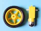 智能小车底盘 机器人轮胎+直流减速电机