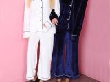 韩国代购秋冬新款金丝绒睡衣式居家服两件套