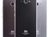 小米2金属保护壳 边框 2s手机保护壳 小米2金属拉丝后盖 手机