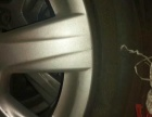 一套4个奥迪A6轮胎加轮毂