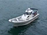 供应灵山兄弟10米钓鱼艇SW35游钓艇专业钓鱼艇海上工作船