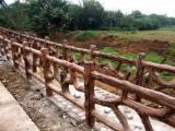 仿木护栏价格 周口仿木栏杆厂家施工数十年品质精良