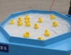 活灵活现的小鸭子电动钓鱼机 户外钓鱼机玩具多人可玩