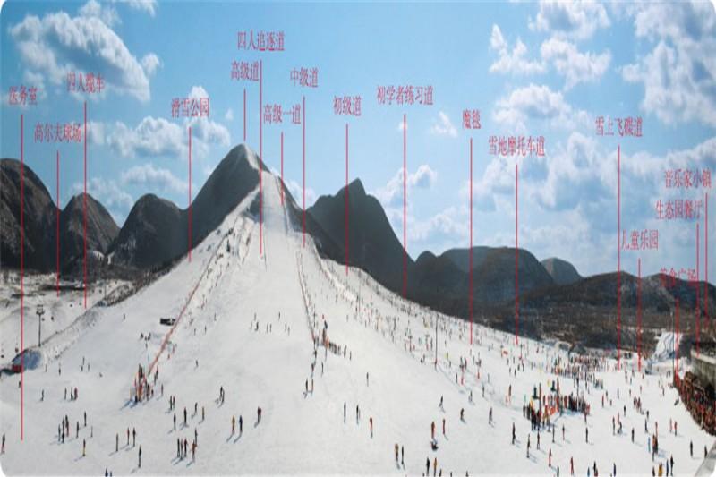 平谷渔阳滑雪 2018公司年会 一日