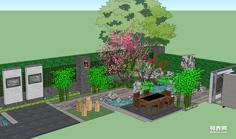宁波别墅花园设计 别墅景观设计 施工