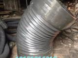 河北衡水风机用橡胶伸缩通风软管 排风软管