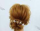 一款时尚的韩式新娘发型,蓬松的发型设计显露出别具一格的气