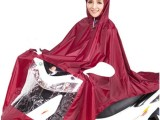 批发优质韩版时尚加厚涤纶摩托车电动车雨衣成人雨披旅游居家必备