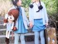 2017林芊国际韩版棉麻风格时尚品牌童装一手货源品牌童装批发