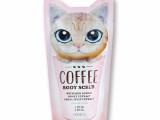韩国正品CHOK CHOK初出猫咪咖啡身体磨砂膏货源批发代发