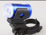 爱松 自行车前灯 6 led警示尾灯 山地车单车骑行装备配件 青蛙灯