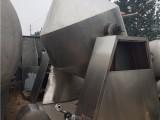 出售1000升不锈钢双锥干燥机二手1500升不锈钢双锥干燥机