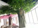 济南仿真椰子树水泥树园林景观雕塑厂家直销