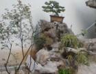庭院假山鱼池拱桥青砖鹅卵石曲径通幽凉亭扬城