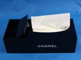 高级亚克力 香家 双C收纳 抽纸 长方形纸巾盒