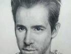 定制素描肖像画