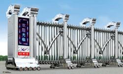 天津定做电动伸缩门 安装维修电动门 价格合理