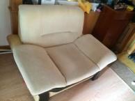 布艺沙发 海绵组合沙发床可自由组合 多用途电脑椅伸缩自如