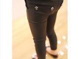 **定制童装 反光面料透气 铅笔裤 小脚裤