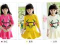 珠海童装批发厂家供应新款儿童秋装卫衣打底衫批发小孩子服装货源