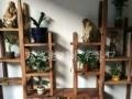 湛江老船木组装地网茶台批发仿古功夫茶桌椅组合