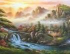 嘉兴国画油画客厅画墨轩批发订制货到付款精品手绘