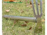 深邦园艺 不锈钢两用锄头 钉耙锄 户外小锄头农用 园林工具 39