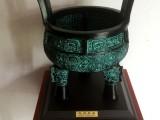 西安开张庆典摆件 铜鼎工艺品 仿古青铜器