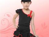 兔兔牛拉丁舞裙女儿童女童舞蹈服练功服演出服少儿拉丁舞服装新款