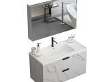 佛山浴室柜厂家直销北欧现代简约时尚卫浴间挂墙式洗漱台洗手盆柜