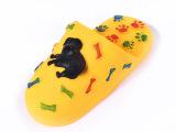 2015宝宝洗澡玩具 捏捏叫玩具 时尚个性拖鞋水上玩具