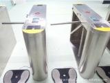 专业供应 深圳中文显示通道闸立式挡闸 ESD通道闸机刷卡机