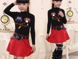 冬季新款韩版童装中大童加厚儿童手工针织毛衣