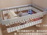 太空铝高档衣帽间推拉藤艺置物篮衣柜储物篮/收纳篮置物架