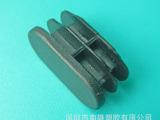 深圳厂家生产15*30mm 塑胶椭圆管塞 雾面家具塑料配件 品质