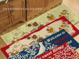 【遇见】外贸创意地垫 韩式小鸟地垫  地毯 日式地毯地垫外贸