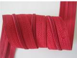 厂家批发直销辅料拉链 3深红色尼龙拉链 汇益拉链