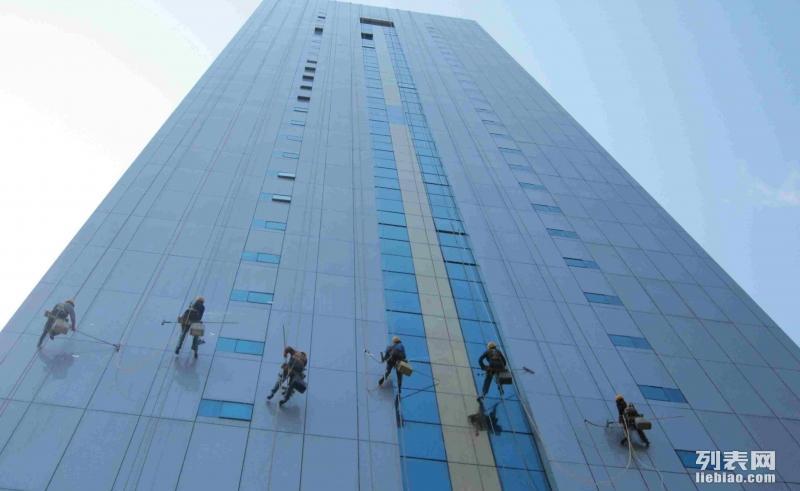 郑州专业外墙清洗/玻璃幕墙清洗/高空安装