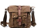 新款潮男欧美单肩斜跨包袋男士包帆布包学生书包时尚女包KH001