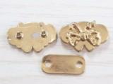 20mm金属蝴蝶型标牌