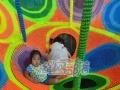 绳网部落软体攀爬类儿童娱乐项目