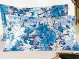江南绿 真丝手绘活性印染枕套 100%桑蚕丝面料 苏州丝绸单个特