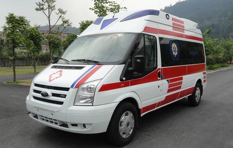 黄冈120救护车出租福特监护型救护车出租