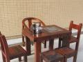 老船木功夫茶台阳台小茶桌