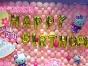 江门生日派对气球装饰,糖化面人,棉花糖,魔术师小丑