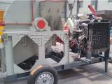 盘锦小型木柴粉碎机-木材小型粉碎机效果展示