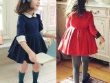 新款原单童裙 韩版儿童连衣裙批发 全棉气质娃娃裙 女童品牌童裙