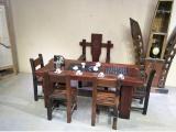 老船木茶桌椅组合客厅中式功夫茶桌沉船木泡茶台全国发货