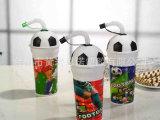大量销售 儿童防漏水杯 促销礼品塑料杯 塑料运动吸管杯