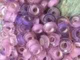 供应大孔琉璃切面珠,琉璃切面加工,锆石大孔珠,潘多拉珠